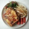 ほうれん草と大豆ミートのナンプラー炒めのレシピ