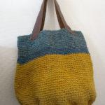 (日本語) 【麻ひもでバッグを作る】