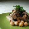 キノコとお豆の梅マリネ