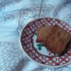 バナナとおからと黒糖のクッキー