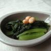 受賞と小松菜のアジアン煮浸し