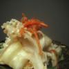 花びら茸のキムチ炒め