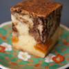 【玉ネギと杏のケーキ】