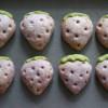 【いちごクッキーの微妙な色の違い】