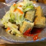 【台湾3日目 臭豆腐とコーヒーと青菜】