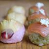 【サーモンと花おくらの手まり寿司のレシピ】