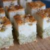 【キウイと緑茶のココナッツミルクケーキ】