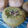 【Flowering fern powdered green tea muffin】