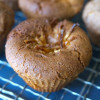 【Soy sauce, DEKOPON and cocoa muffin】