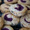 【けしの実と紫芋あんのグルグルクッキー】