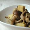 お豆腐とキノコのマスタード煮