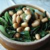 白菜と大豆の炒め鍋