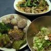 緑な晩ご飯