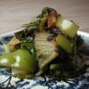 白菜の蒸し焼き
