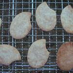 【告知と米粒のクッキー型】