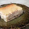 【お豆腐と酒粕のチーズケーキバー】